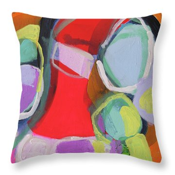 Conference Call Throw Pillow