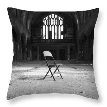 Confess  Throw Pillow
