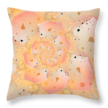 Confetti Pastel Throw Pillow