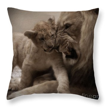 Throw Pillow featuring the photograph Confidence 2 by Christine Sponchia