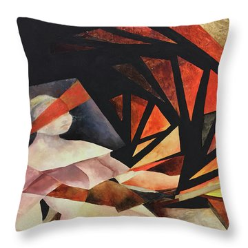 Confluence Throw Pillow