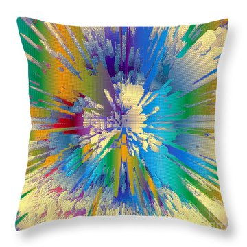 Coloratura Soprano Throw Pillow