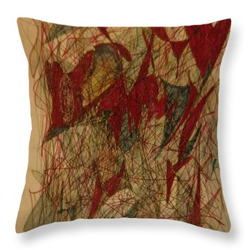 Conglomerate Synthesis  Throw Pillow