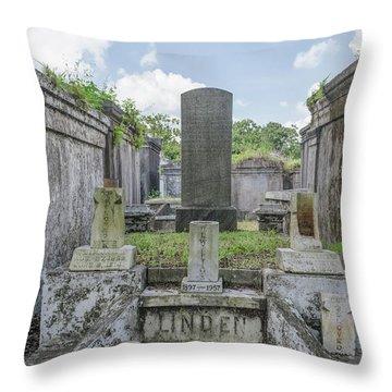 Congregation Of The Dead Throw Pillow