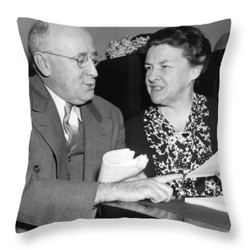 Congressional Conference Throw Pillow
