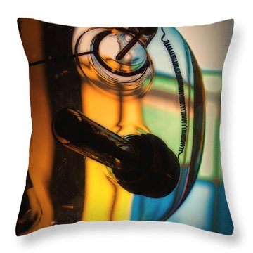 Throw Pillow featuring the photograph Conical by Tim Nichols