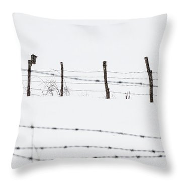 Connected -  Throw Pillow