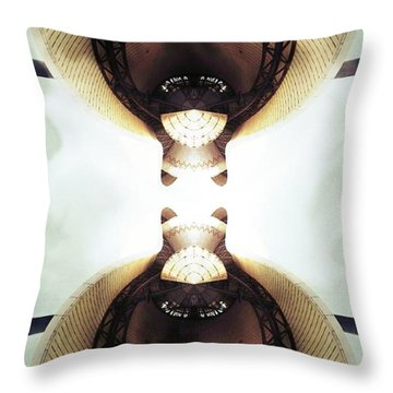 Connected Throw Pillow by Jorge Ferreira
