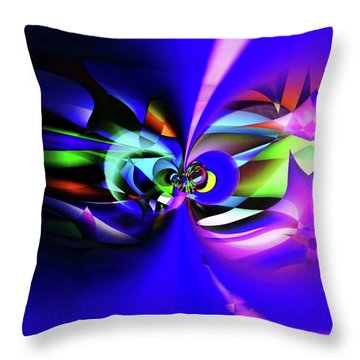 Connection 2 Throw Pillow