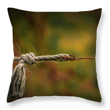 Connection Throw Pillow by Odd Jeppesen