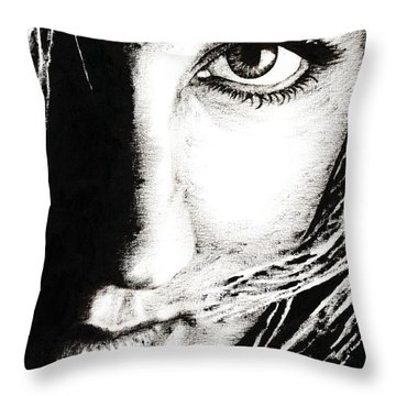 Connection Throw Pillow by Richard Young