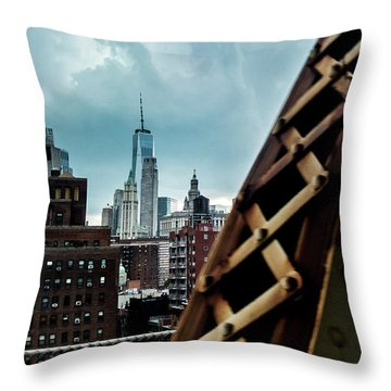 Connector Throw Pillow