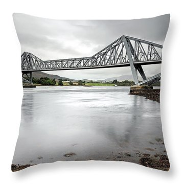 Connel Bridge Throw Pillow
