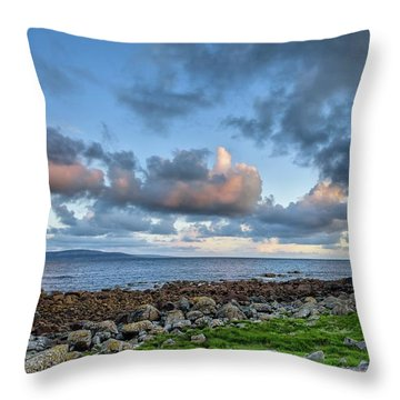 Connemara Sunset Throw Pillow