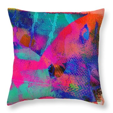 Connivance,just Another Texture Throw Pillow