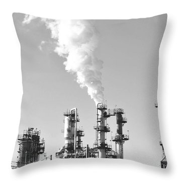 Conoco Throw Pillow