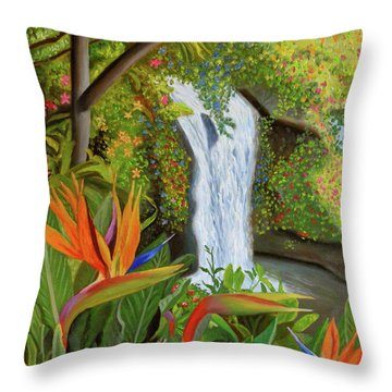 Conquest Of Paradise Throw Pillow