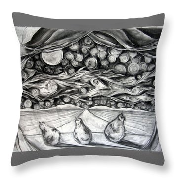 Consequence Beyond The Horizon - Study Throw Pillow