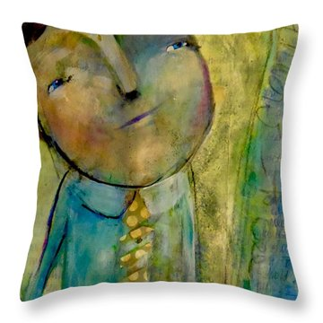 Considering Throw Pillow