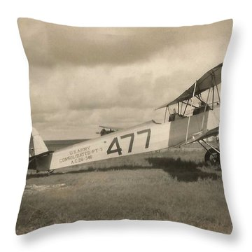 Consolidated O-17 Courier 1928 Throw Pillow