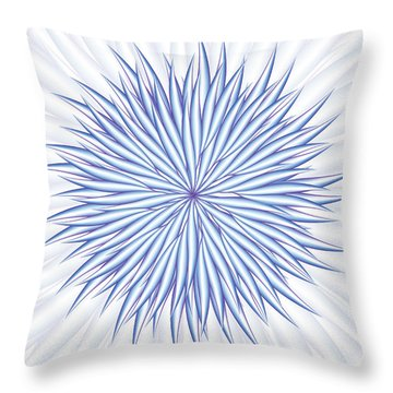 Throw Pillow featuring the digital art Consontrate by Jamie Lynn