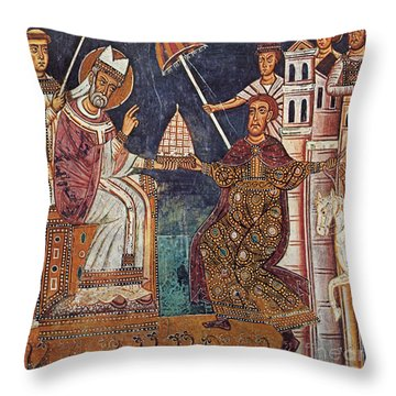 Constantine I (c280-337) Throw Pillow by Granger