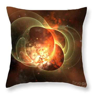 Constellation Throw Pillow by Corey Ford