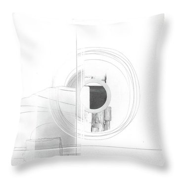 Construction No. 3 Throw Pillow