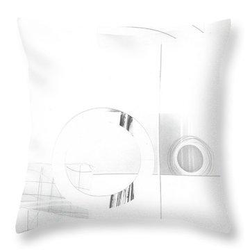 Construction No. 1 Throw Pillow