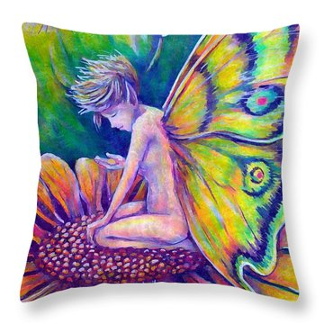 Contemplating A New Dream Throw Pillow