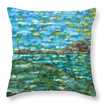 Contemplation 2 Throw Pillow by Patrick J Murphy