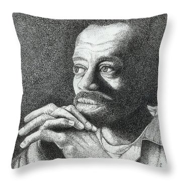 Contemplation Throw Pillow by Lawrence Tripoli