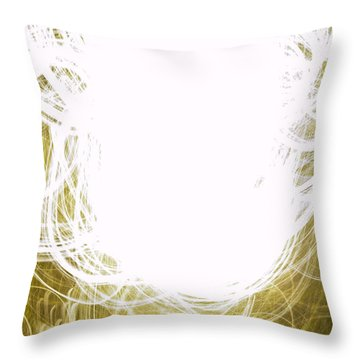 Contemporary Abstraction II Limited Edition 1 Of 1 Throw Pillow