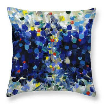 Contemporary Art Forty-four Throw Pillow