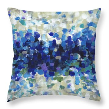 Contemporary Art Forty-three Throw Pillow