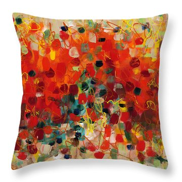 Contemporary Art Thirty-three Throw Pillow