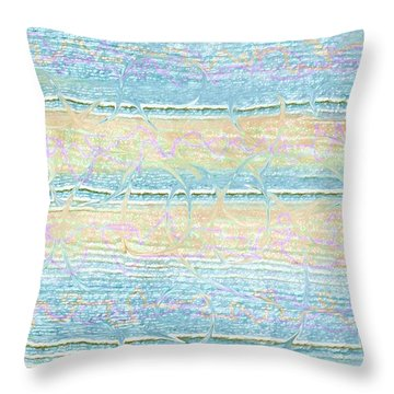 Throw Pillow featuring the photograph Contemporary Design by Ellen O'Reilly