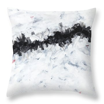 Contemporary Landscape 2of2 Throw Pillow