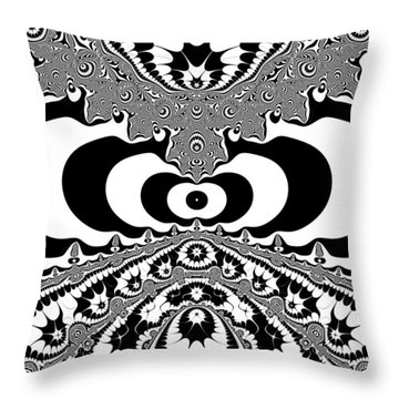 Conterialt Throw Pillow