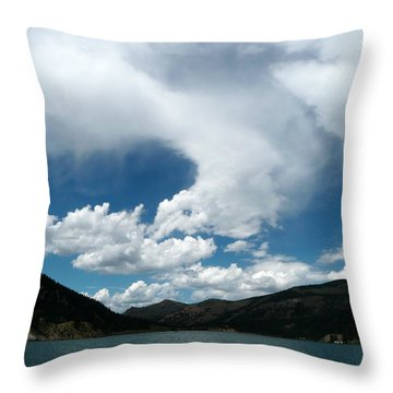 Continental Whisper Throw Pillow