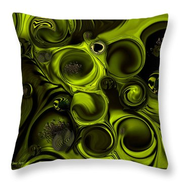 Continuation Or Substance Throw Pillow