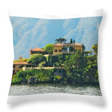 Continuing With The Review Of The Shots Throw Pillow