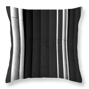 Continuum 6 Throw Pillow