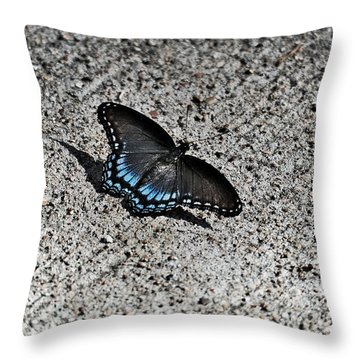 Contrast  Nature Verse Industrial Throw Pillow