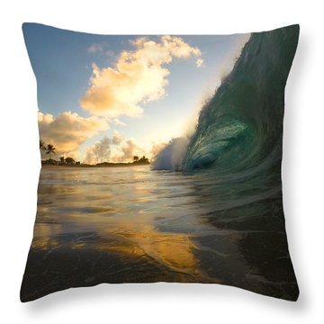 Contrasting Forces Throw Pillow