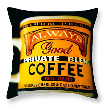 Contrasts Throw Pillow by Cesare Bargiggia
