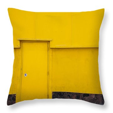 Contrasts In Color Throw Pillow
