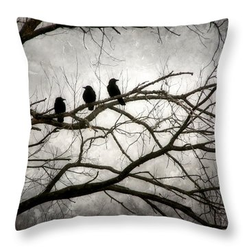 Contrive - By The Light Of The Moon Throw Pillow