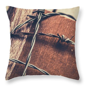 Control And Confidentiality Throw Pillow by Jorgo Photography - Wall Art Gallery