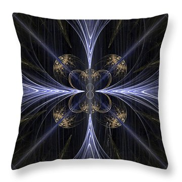 Convergence Throw Pillow